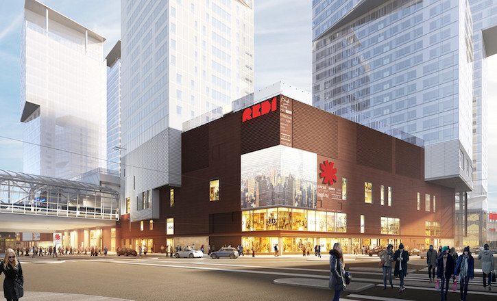 Shopping Centre REDI Opened Its Doors In Helsinki
