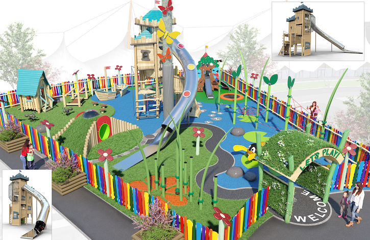 McArthurGlen Designer Outlet Ashford Shares First Look On A £400,000 Playground