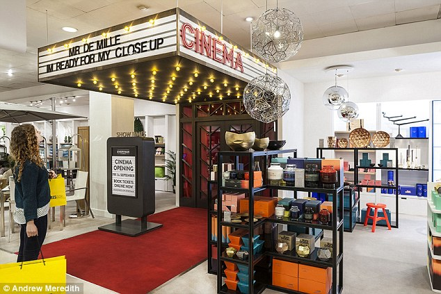 Selfridges opens first cinema in store