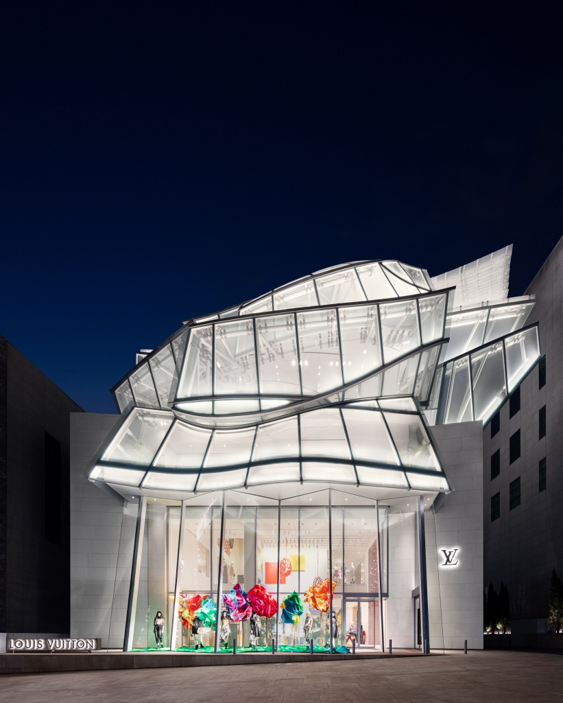 The Louis Vuitton Maison Seoul boutique