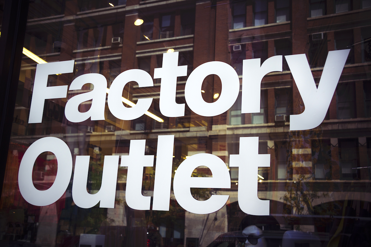 Factory Outlet - Depositphotos