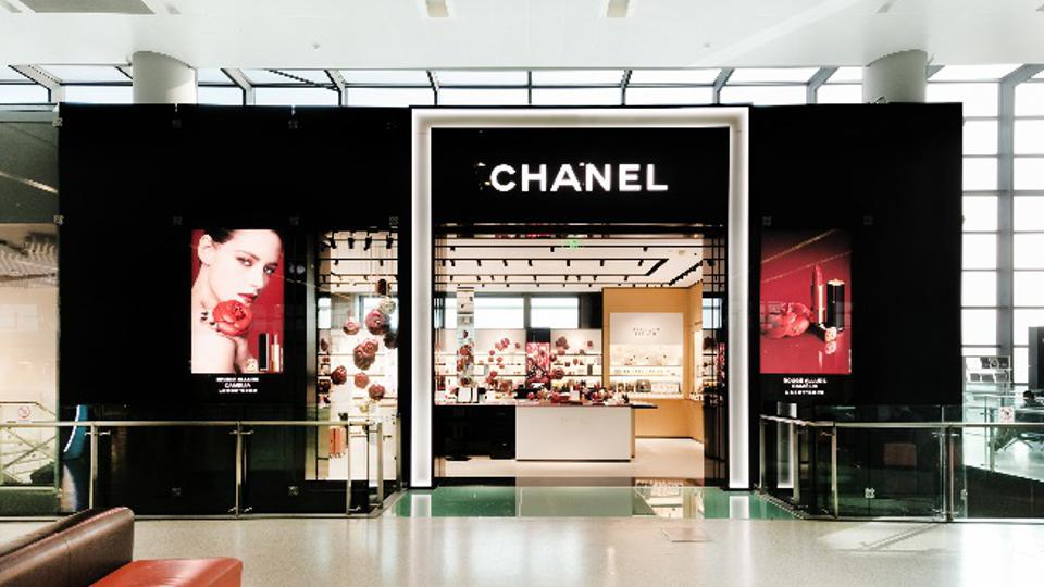 Chinese airports Chanel