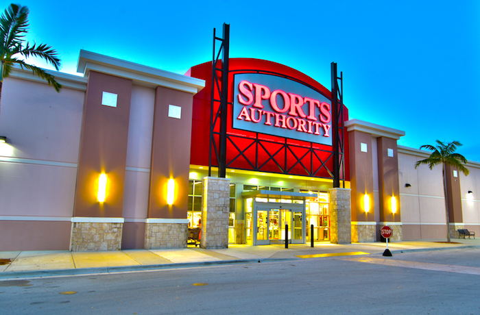 Sports Authority Shutdown