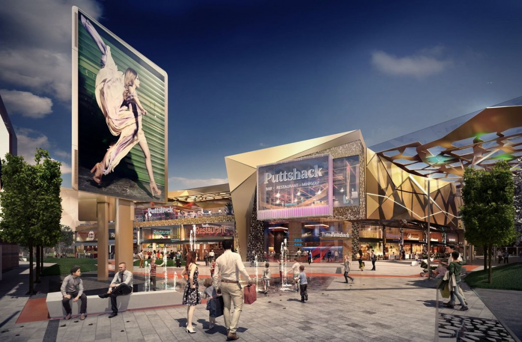 Multi-million-pound Retail And Leisure Development Opens This Year