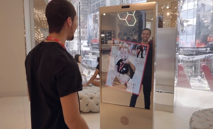 Microsoft And H&M Created An Interactive Mirror For Shoppers