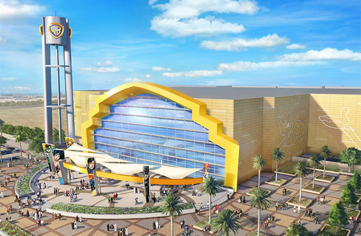 The World's First Indoor Park Warner Bros. Opened In Abu Dhabi