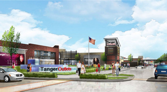 Tanger Outlets Begins Construction Of A New Center In Florida - First shopping center in usa
