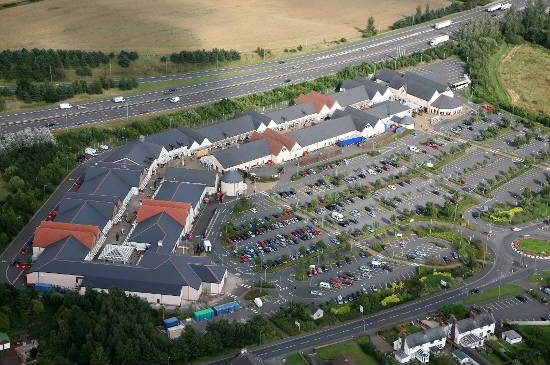 Gretna Gateway Outlet Village in Scotland