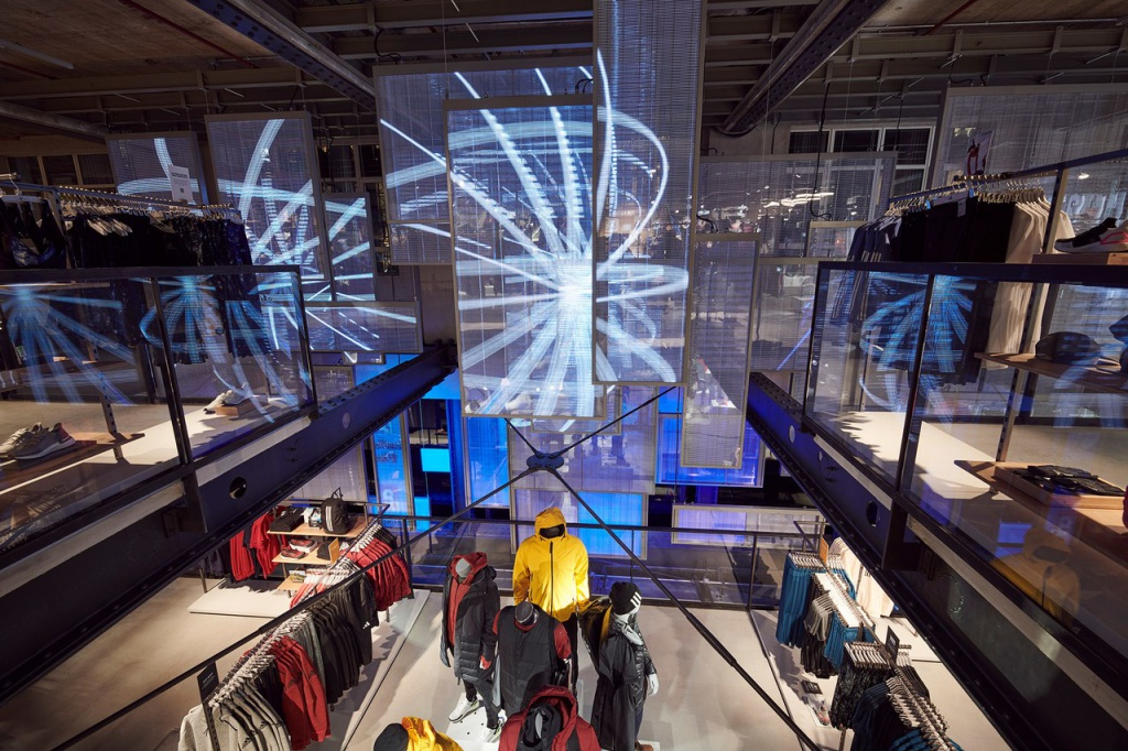 "adidas opened a ""store of the future"" in London"