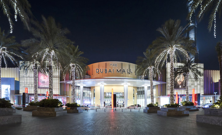 The Dubai Mall Sees Influx Of Shoppers During Golden Week