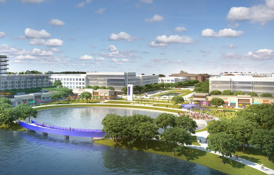 First Tenants For Cypress Waters Shopping Center USA News MallsCom - First shopping center in usa