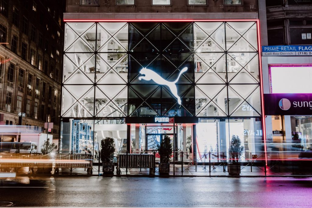 Puma experience store