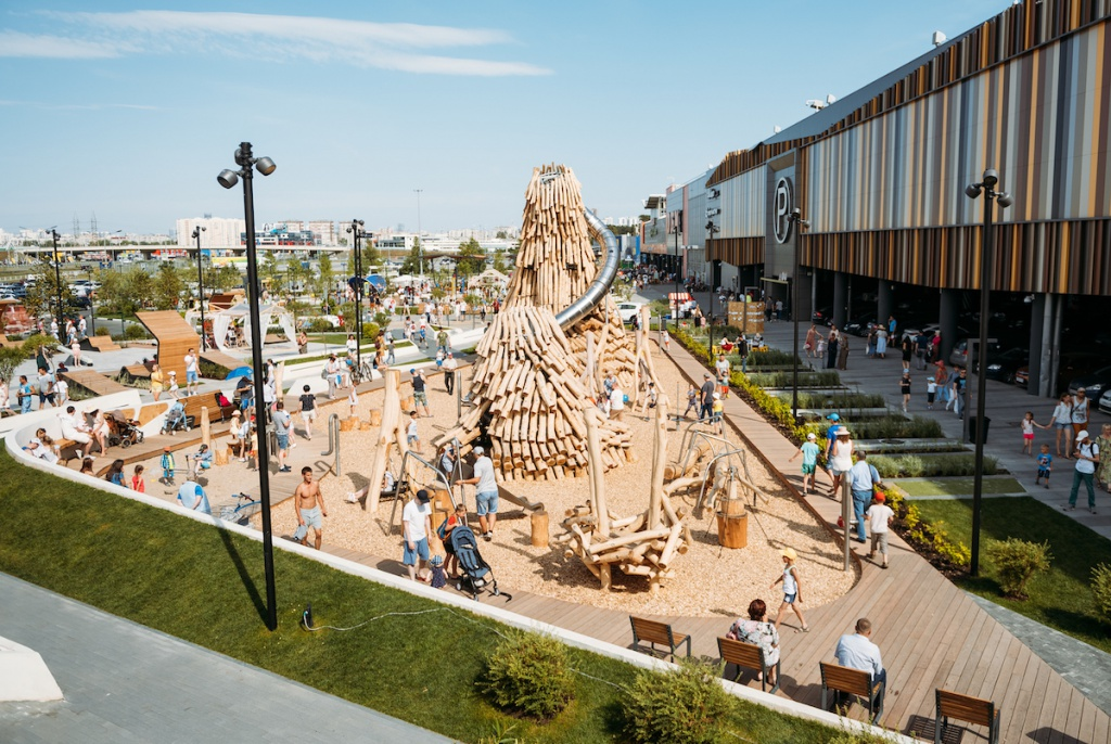 New Park at Mega Ekaterinburg