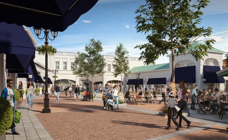 Construction to commence on £160 million McArthurGlen Designer Outlet Cannock