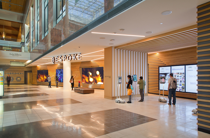 Bespoke coworking and retail-event space opens at Westfield San Francisco Centre