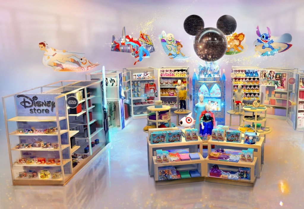 Target Launches Mini-shops and Starts Cooperation with Disney
