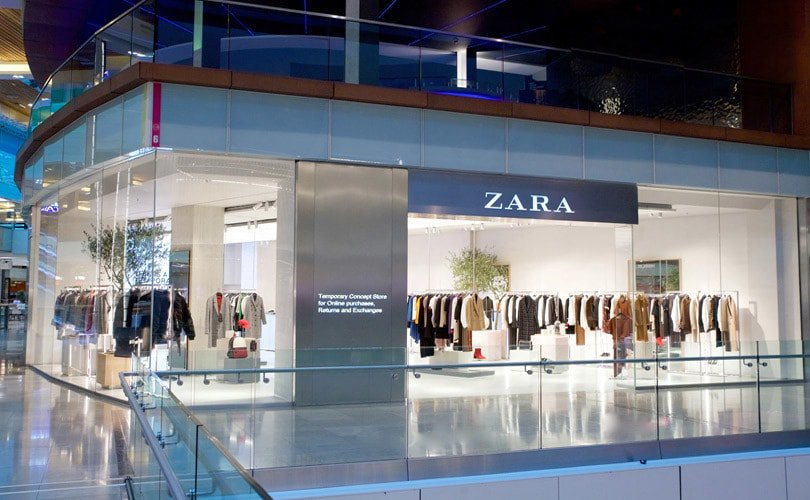 Zara Opens An Innovative Pop-up Store In London