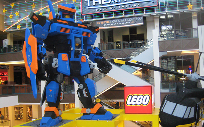 LEGOLAND in Malls of America