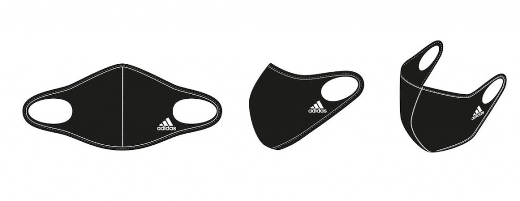 Adidas Face Cover mask