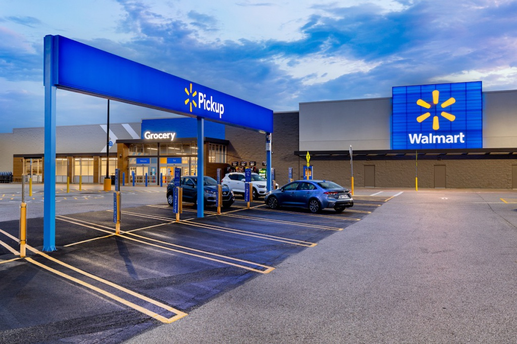 Walmart Supercenter redesign