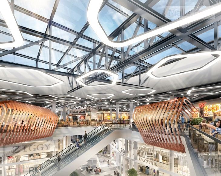 A New Lifestyle-led Shopping Center Opens in Warsaw