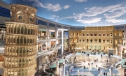 Italian-Styled Shopping Center Opened In Moscow