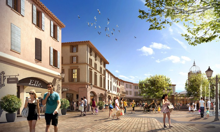The First Designer Outlet In Provence Opened