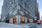 UGG opened its first flagship store in New York