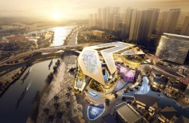 LWK + PARTNERS  unveils designs for Zhongshan OCT Harbour shopping mall