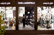 Karl Lagerfeld opened first MidEast concept store in Doha