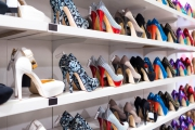 Customers prefer department stores to online stores when shopping for shoes