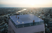 The World's First Pool With a 360-views Plans on the Roof of a Skyscraper