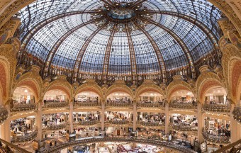 Galeries Lafayette launched a video shopping service
