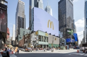 McDonald's Goes Huge in Times Square