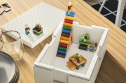 IKEA and Lego showcased a collaboration - for playing and storing simultaneously