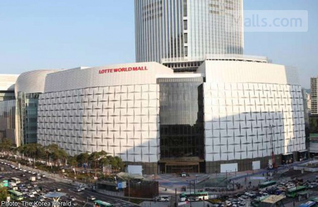 Landmark shopping mall opened by Lotte