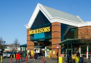 Morrison's only large supermarket to see increased sales during January