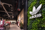 Adidas opens a flagship store at Dubai Mall