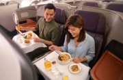 A unique restaurant opens onboard an Airbus A380 aircraft