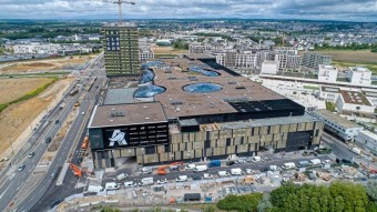 """Auchan of the Future"" Unveiled in Cloche d'Or Shopping Center"