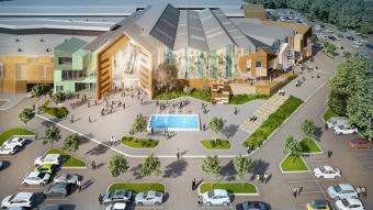 Immochan Started Construction Of The Aquarelle Mall Near Moscow