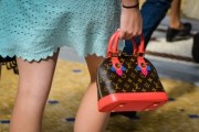 Customers are shopping for Louis Vuitton bags despite the crisis