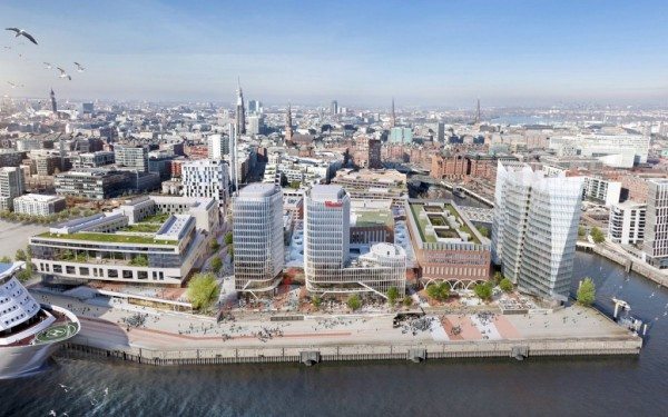 URW Laid the Foundation Stone for Westfield Hamburg