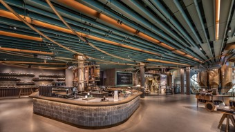 Starbucks Opens the World's Largest Coffee Shop