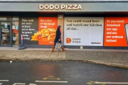 Dodo Pizza unveils it's first fast-gourmet pizzeria in England