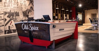 Old Spice will open its first experimental barbershop