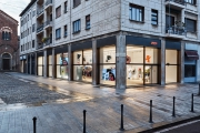 Cult brand Supreme opens its flagship store in Milan