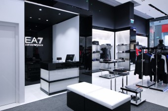 First Russian Emporio Armani's EA7 Store Opens At Moscow's Mega Mall