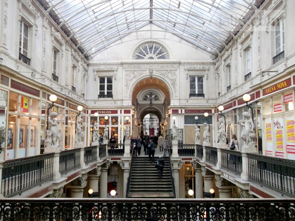 Passage pommeray mall in nantes france malls com - Magasin passage pommeraye ...