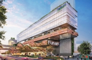 Funan Mall Reconstruction Started in Singapore